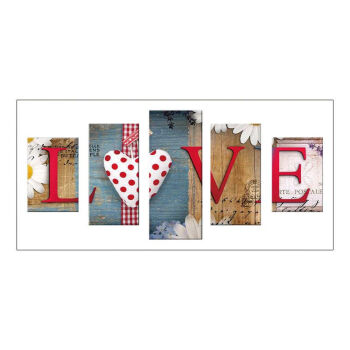 Full Drill Home Love 5D Diamond Painting Cross Crafts Stitch Embroidery Decor