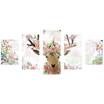 DIY 5D Diamond Painting Embroidery Animals Cross Crafts Stitch Kit Home Decor