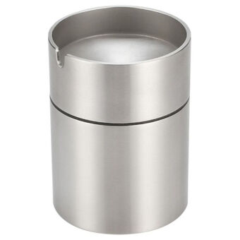Stainless Steel Car Ashtray Smokeless Car Cigarette Ash Holder