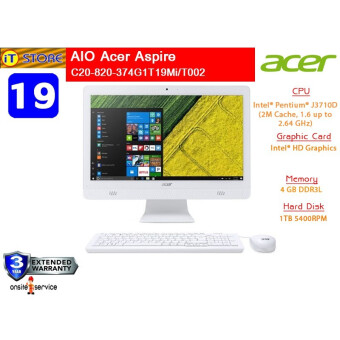 ALL-IN-ONE ออลอินวัน ACER ASPIRE C20-820-374G1T19MIT002