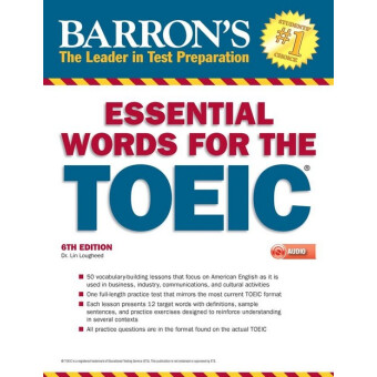 BARRONS ESSENTIAL WORDS FOR THE TOEIC WITH MP3 CD 6TH ED