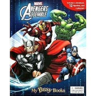 MARVEL AVENGERS ASSEMBLE MY BUSY BOOK