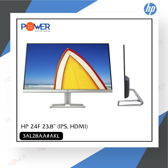 Monitor 238 HP 24F IPS, HDMI รับประกัน 3 ปี Silver Silver