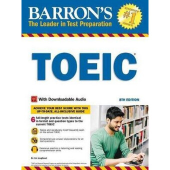 BARRONS TOEIC 8TH ED WITH DOWNLOADABLE AUDIO