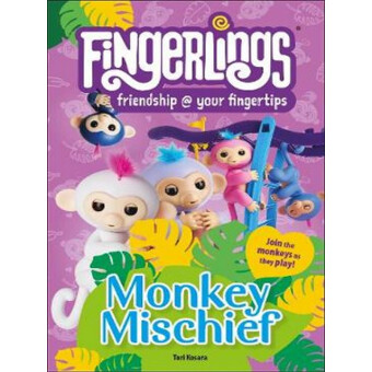 FINGERLINGS MONKEY MISCHIEF DK READERS 2
