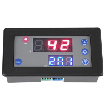 DC 12V Timing Delay Relay Module Cycle Timer Digital LED Dual Display 10A 1500W Timer Delay Relay Cycle Timer