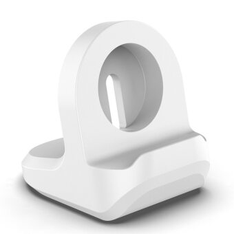 For Apple Watch Charger Dock Silicone Wireless Charger Holder For Iwatch 6 5 4 3 1 Se 2 Applewatch Iphone Watch Stand