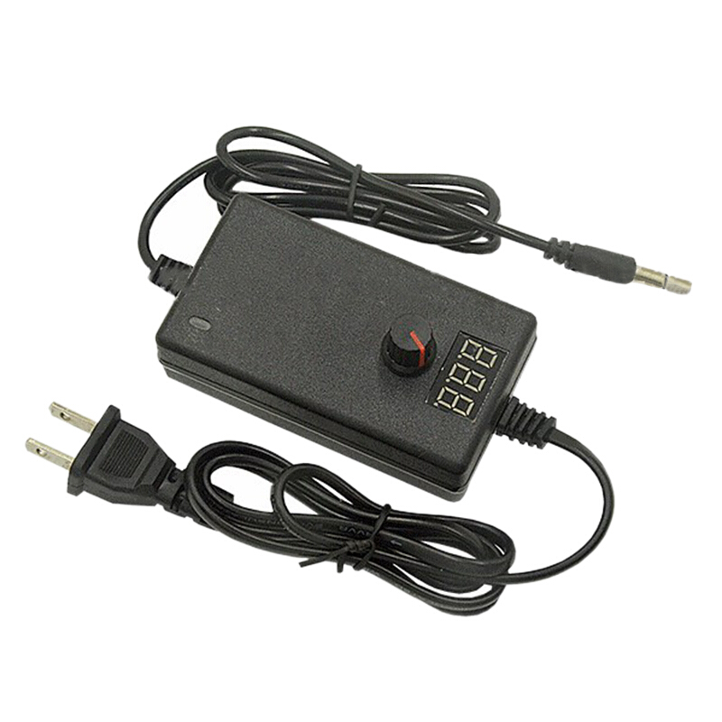 ซื้อ 3-12V 2A Adjustable Power Adapter Supply 100-240V to 3