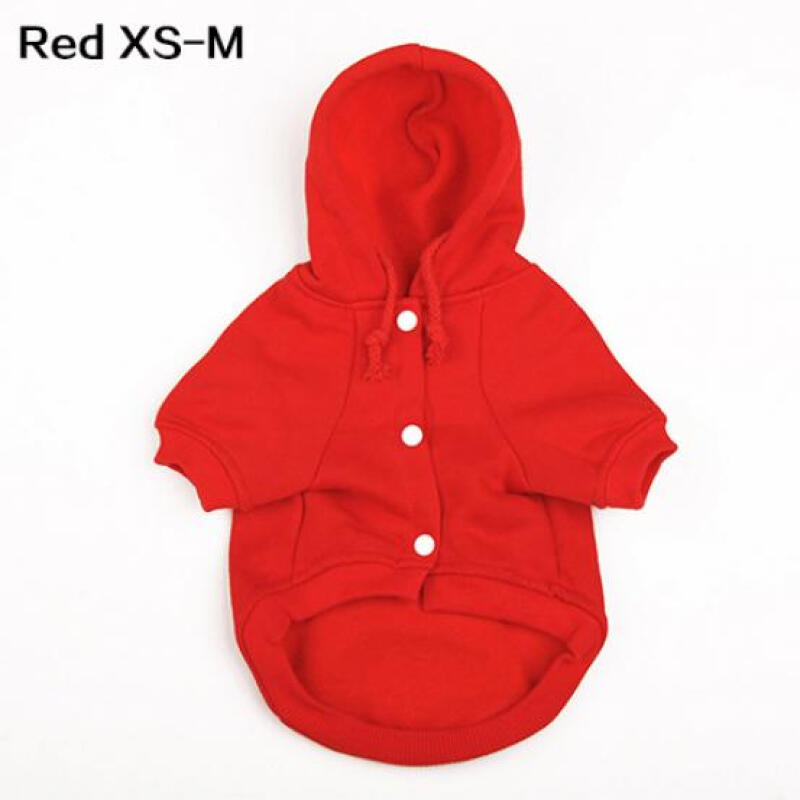 Dog Puppy Pet Clothes Autumn and Winter Warm Hooded Sweater M,L,XL