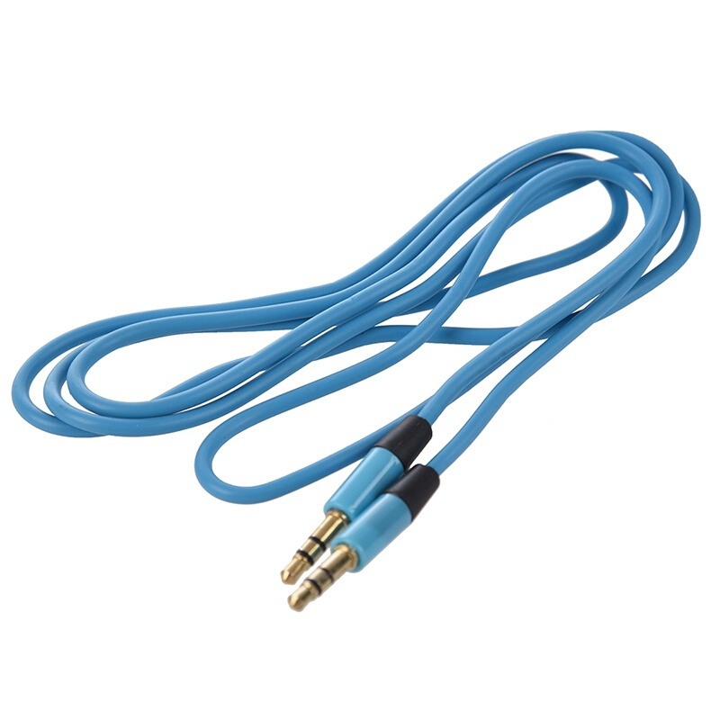 3.5mm Male to Male Car Aux Auxiliary Cord Stereo Audio Cable for Phone iPod JD