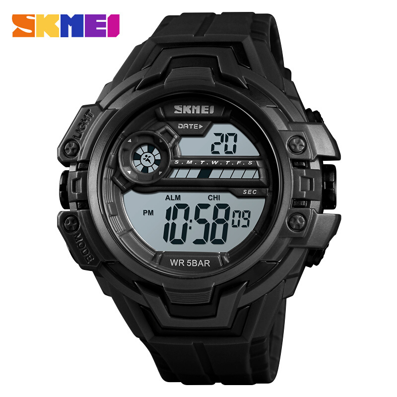 Watches Aspiring Skmei Kids Watches Led Digital Children Cartoon Sports Watches Robot Transformation Toys Boys Wristwatches Montre Enfant