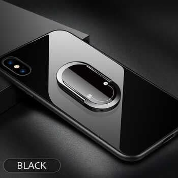 2 In 1 Cigarette Lighter Car Magnetic Phone Holder Stand Auto Charger Cell Phone Ring Holder Bracket For Iphone Samsung Huawei