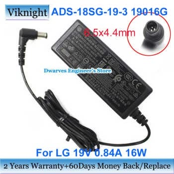 Genuine For Lg Ads-18sg-19-3 19016g 19v 0.84a Ac Adapter Ads-18fsg-19 Eay6303 Lcap36-E 19m38d Lcap36 19m38h 22mk400a 19m38a