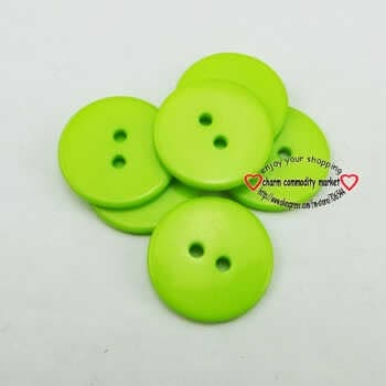 50pcs 20mm Dyed Resin Sweater Buttons Brand Coat Button Decoration Boots Sewing Clothes Accessory R-265k