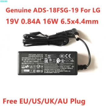 Genuine Ads-18fsg-19 19v 0.84a 16w Ac Switching Adapter For Lg 19m38a 19m38d 19m38h 22mk430h Lcap36 Lcap42 Power Supply Charger