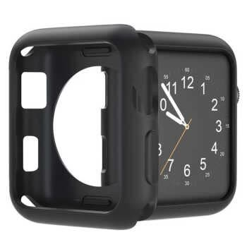 For Apple Watch Case 40mm 44mm 38mm 42mm Soft Tpu Protective Bumper Iwatch Cover For Applewatch Series 5 4 3 2 1 Silicone Cases