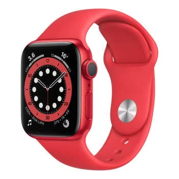 Apple Watch Series 6 GPS (40mm, (PRODUCT)RED Aluminum Case, (PRODUCT)RED Sport Band)
