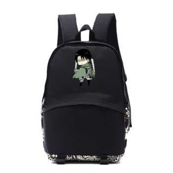 Anime Attack On Titan Rivaille Acerman Concept Anime Backpacks Cartoon Game Fans Bag Attack On Titan Backpacks