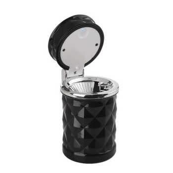 Car Ashtray Portable Car Cigar Cigarette Led Ashtray With Lid Cup Holder Travel Auto Cigarette Smoke Remove Ashtray