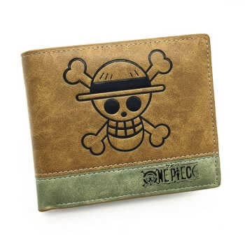 Hot Japanese Anime Death Note/ Attack On Titan/ One Piece/ Game Short Wallet With Coin Pocket Zipper Poucht Billetera