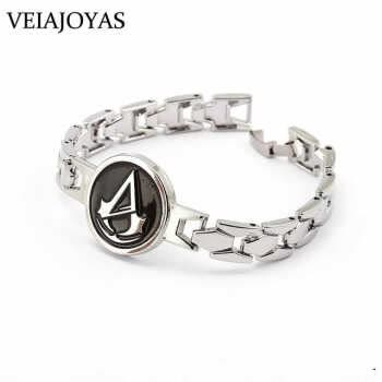 Charms Bracelets Attack On Titan Naruto One Piece Game Of Thrones Stainless Steel Bracelet Bangle For Women Cosplay Accessories