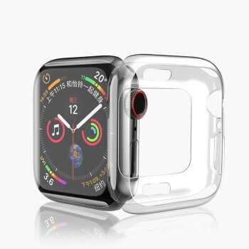 Cover For Apple Watch Case 44mm 40mm Iwatch Case Ultra-thin Bumper Protector Apple Watch Series 5 4 44 40 Mm Accessories
