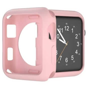 For Apple Watch Case 40mm 44mm 38mm 42mm Soft Tpu Protective Bumper Iwatch For Applewatch Series 5 4 3 2 1 Silicone Cases