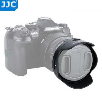 Jjc Reversible Lens Hood For Olympus M.zuiko Digital Ed 12-40mm F/2.8 Pro Lens Fits Cpl Filter Replaces Olympus Lh-66 Not Specified