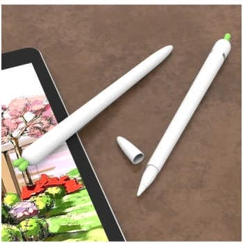 Cartoon Cute Carrot Silicone Shockproof Pencil Case For Apple Pencil 2/1 Touch Pen Stylus Kawaii Protective Sleeve Cover Case