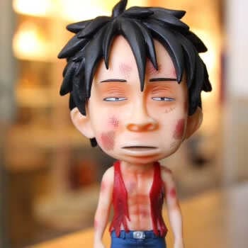 18 Cm Anime One Piece King Of Artist Snake Man Luffy Snakeman One Piece ey D Luffy Gear 4 Figure Pvc Collectible Toys